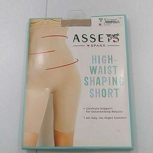 Spanx Assets High Waist Shaping Short Nude